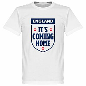 It's Coming Home England KIDS Tee - White