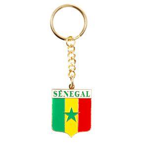 Senegal Enamel Keyring
