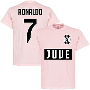 Juve Ronaldo 7 Team Tee - Pink