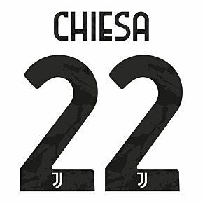 Chiesa 22 (Official Printing) - 20-21 Juventus Home