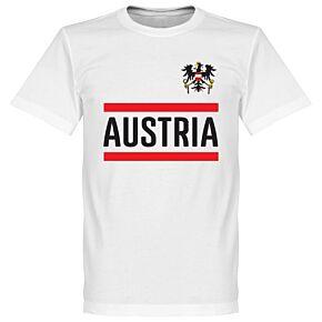 Austria Team Tee - White