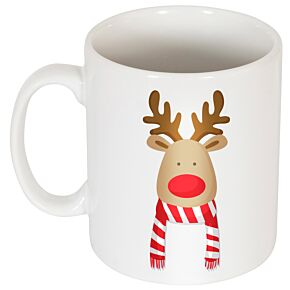 Reindeer Supporters Mug - Red/White
