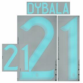 Dybala 21 (Official Printing) - 20-21 Argentina Away