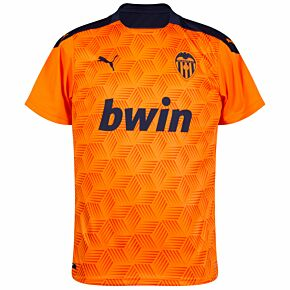 20-21 Valencia Away Shirt