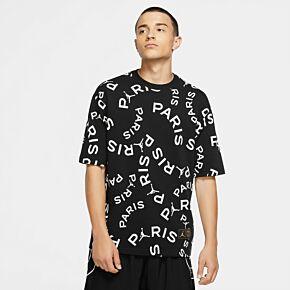 20-21 PSG Jock Tag T-shirt - Black