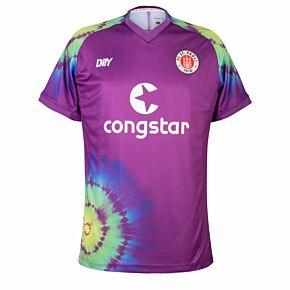 21-22 St Pauli Away GK Match Authentic Shirt