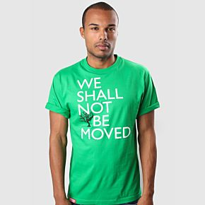 Football Culture 'We Shall Not Be Moved' Tee