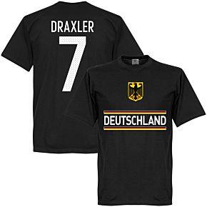 Germany Team Draxler 7 Team Tee - Black