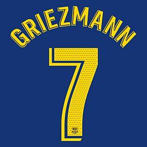 Griezmann 7 (Match Pro) - 20-21 Barcelona Home