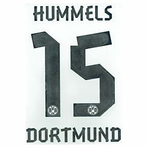 Hummels 15 - 12-13 Borussia Dortmund Home BOYS Official Name & Number