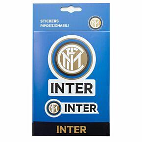 FC Inter Milan Crest Sticker (Approx 11cm x 7cm)
