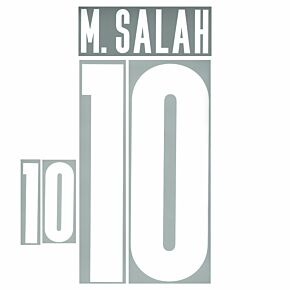 M.Salah 10 (Official Printing) - 20-21 Egypt Home