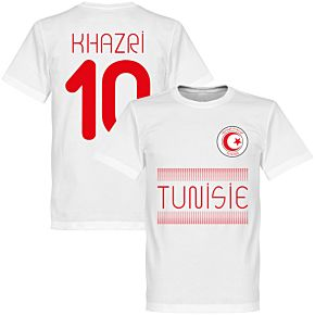 Tunisia Khazri 10 Team Tee - White