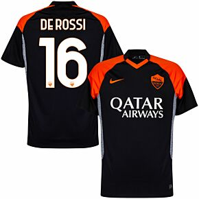 20-21 AS Roma 3rd Shirt + De Rossi 16