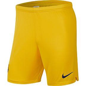 Nike Barcelona Away Shorts 2019-2020