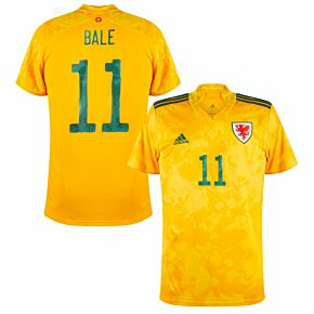 20-21 Wales Away Shirt + Bale 11 (Official Printing)