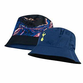 21-22 Tottenham Reversible Bucket Hat - Blue