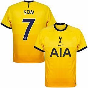 20-21 Tottenham 3rd Shirt + Son 7