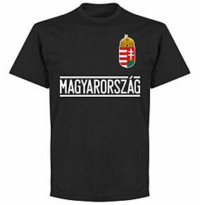Hungary Team T-Shirt - Black