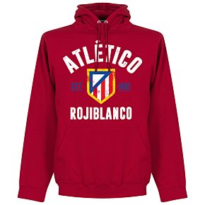Atletico Madrid Established Hoodie - Red