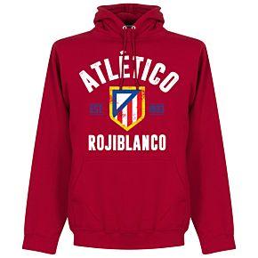 Atletico Madrid Established Hoodie - Red