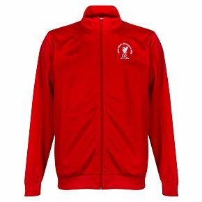 2005 Liverpool The Final Istanbul Retro Jacket - Red