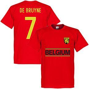 Belguim De Brunye Team Tee - Red