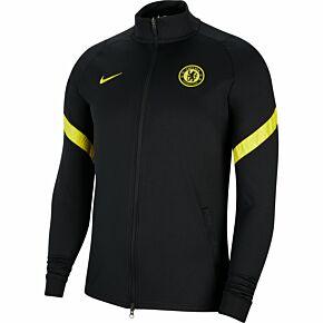 21-22 Chelsea Strike Track Jacket - Black