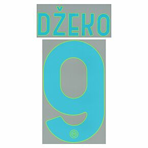 Džeko 9 (Official Printing) - 21-22 Inter Milan 3rd