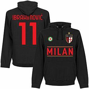 Milan Team Ibrahimović 11 Hoodie - Black