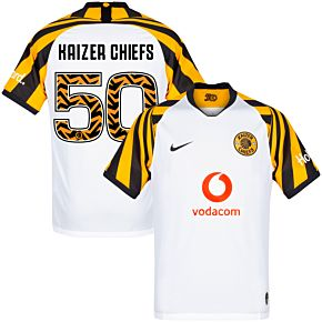 Nike Kaizer Chiefs 50 Away Jersey 2019-2020 (Fan Style Printing)