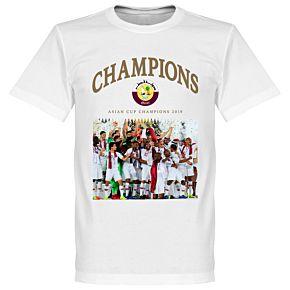 Qatar 2019 Celebration Tee - White