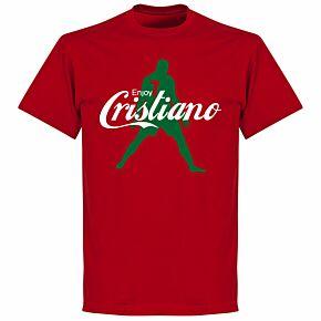 Enjoy Ronaldo KIDS T-shirt - Red