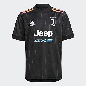 21-22 Juventus Away Shirt - Kids