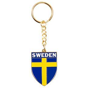 Sweden Enamel Keyring