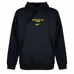 21-22 Chelsea NSW Club Hoodie - Black/Yellow
