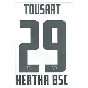 Tousart 29 (Official Printing) - 20-21 Hertha Berlin Home
