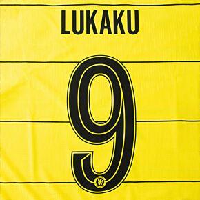 Lukaku 9 (Official Cup Printing) 21-22 Chelsea Away