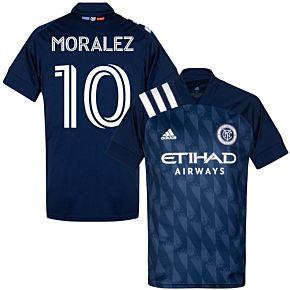 20-21 New York City FC AwayShirt + Moralez 10 (Fan Style)