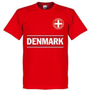 Denmark Team Tee - Red