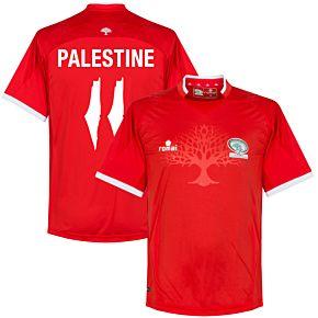 Palestine Home Jersey 2016 / 2017 + Palestine 11 (Fan Style Printing)
