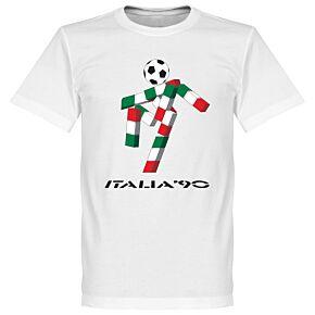 Italia 90 Graphic KIDS Tee - White