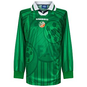 97-99 Ireland Home L/S Players Jersey