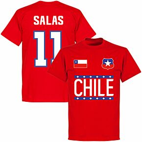 Chile Salas 11 Team T-shirt - Red