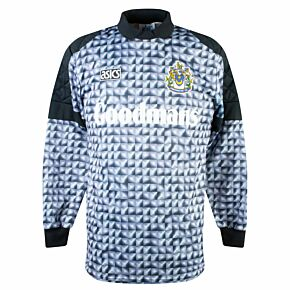 Asics Portsmouth 1992-1994 Home Goalkeeper Shirt - USED Condition (Great) - Size M - Signed by UNKNOWN *READY TO PUBLISH*