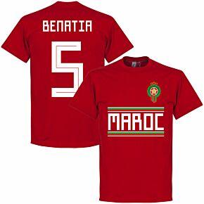 Morocco Benatia 5 Team Tee - Red