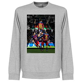 Barcelona The Holy Trinity Sweatshirt - Grey