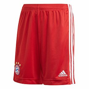 20-21 Bayern Munich Home Shorts - Kids