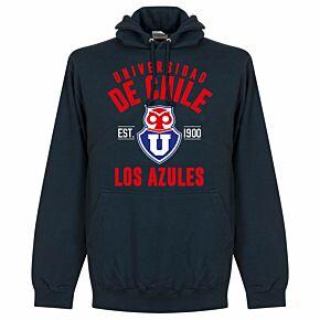 Universidad de Chile Established Hoodie - Navy