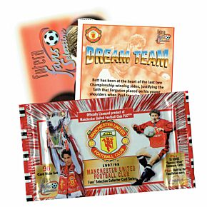 97-98 Man Utd Trading Cards